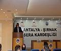 Antalya- Şırnak Sera Kardeşliği Toplantısı Odamız Öncülüğünde Düzenlendi