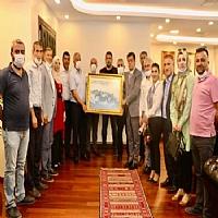 STK Başkanlarından Başkan Yarka'ya Ziyaret