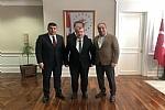 Milletvekilimiz Rizgin BİRLİK ve Başkanımız Osman GELİŞ, Sağlık Bakan Yrd. Halil ELDEMİR'i ziyaret etti.