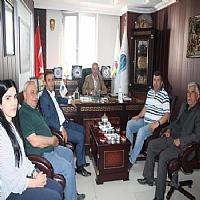 Yönetim Kurulu Başkanımız Osman Geliş, Yüksekova Ticaret ve Sanayi Odası Başkanı Abdurrahman Pınar'ı makamında ziyaret etti.