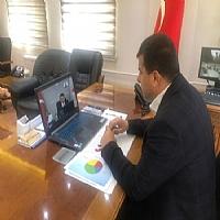 Başkan Geliş Tarım Bakanı Pakdemirli ile görüşerek İlimizin sorunlarını aktardı.